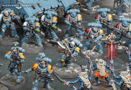 Resumen de hoy, martes, de Warhammer Community
