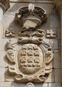 Escudo del Monasterio de Santo Estevo
