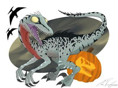 Unas cuantas ilustraciones halloweenescas... (II)