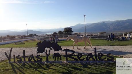 Vistas reales - comer y montar a caballo a media hora de Madrid