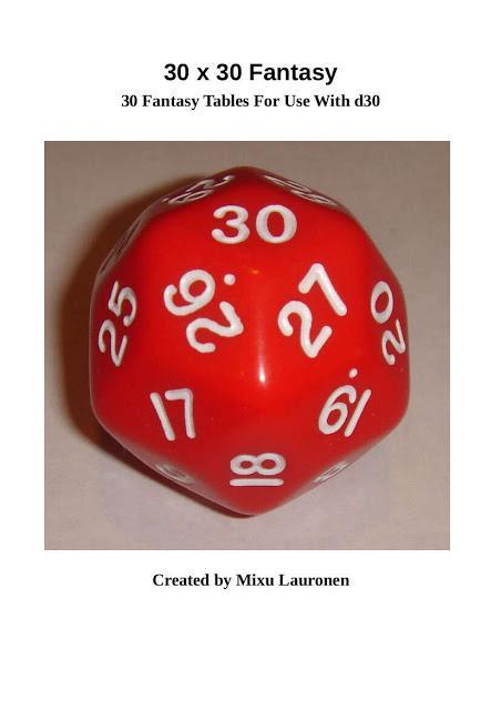 30x30 Fantasy, de Mixu Lauronen