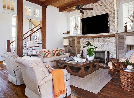 Hermosa Casa Rustica Americana