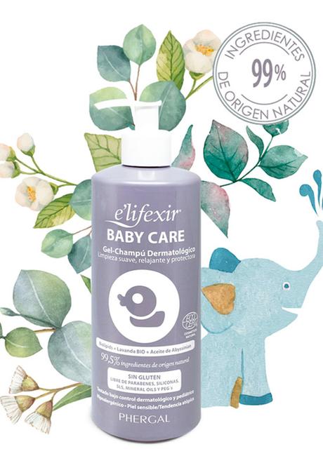 e´lifexir Baby Care, la línea para bebés con pieles sensibles y tendencia atópica