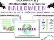 Recurso imprimible: Cuaderno Bitácora Halloween vuelta mundo través diversidad cultural
