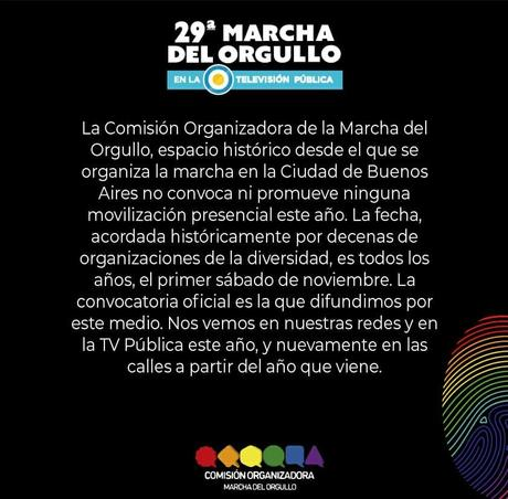 29° Marcha del Orgullo LGBTIQA+ de Buenos Aires