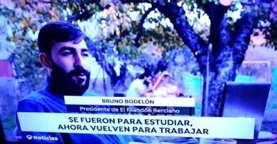 """Antena3 Noticias ensalza la labor de la asociación de jóvenes 'Filandón Berciano' que pretende """"con ilusión construir un nuevo Bierzo"""""""