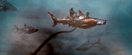 Cómo se ideó esa locura cinematográfica llamada Sky Sharks