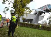 tren salvado caída cola ballena Rotterdam