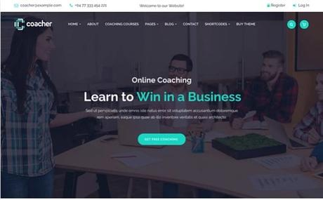 9+ Mejores Temas WordPress para Coach Personal y Mentor
