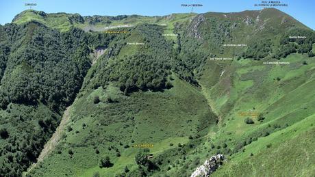 Caleao-Braña Usil-Vega l´Arcu-Valtexosu-La Cabritera