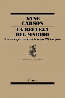 Anne Carson: La belleza del marido