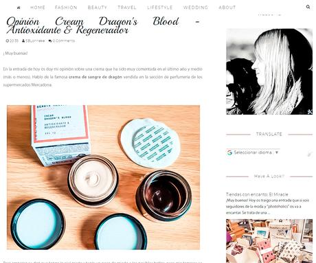 DRAGON'S BLOOD CREAM