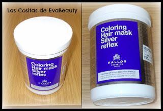 Compras belleza low cost en Primor-Mascarilla capilar pelo rubio y con canas Kallos Cosmetics