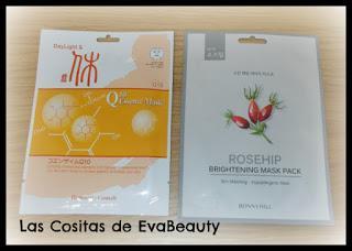 Compras belleza low cost en Primor-Mascarillas faciales coreanas BonnyHill