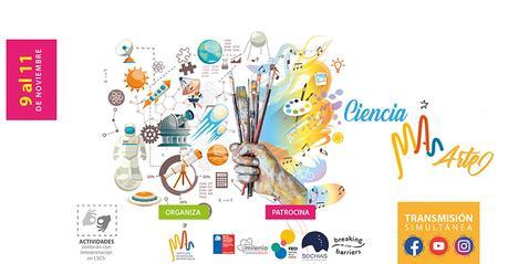 """Evento en línea """"Ciencia MAS Arte"""""""