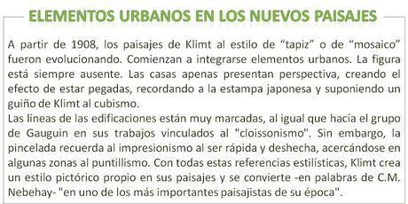 LOS PAISAJES DE KLIMT