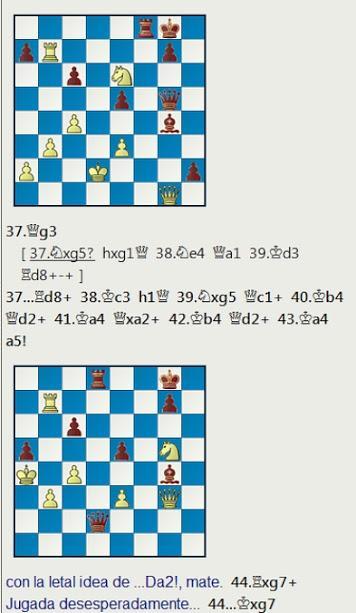 El baúl de los recuerdos (22) - William Winter vs Tartakower, London British Empire Club (7) 18.10.1927