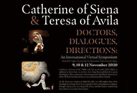Catalina de Siena y Teresa de Jesús, doctoras de la Iglesia. Simposio virtual