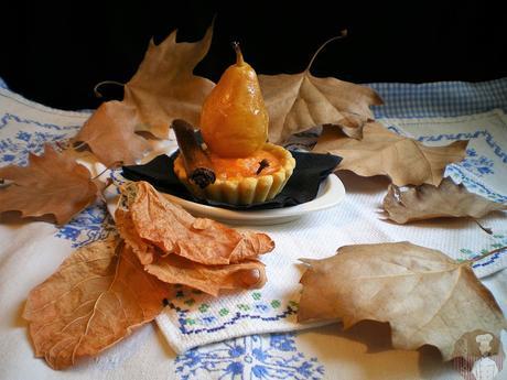 Tartitas de batata y manzana caramelizada