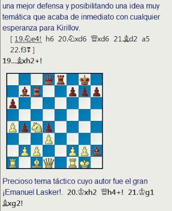 El baúl de los recuerdos (23) - Kirillov vs Furman, URS-ch sf Vilnius (6) 1949