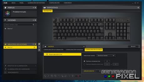 ANÁLISIS GAMING: Teclado Corsair K60 RGB Pro