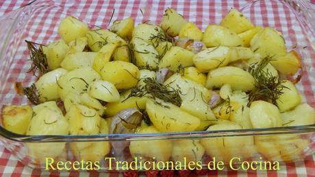 Patatas con tomillo y romero una deliciosa guarnición