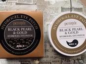 Petitfée: hydrogel patch black pearl gold