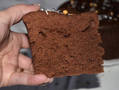 Bizcocho de chocolate al microondas de Isabel