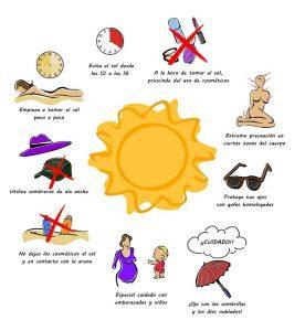 consejos de cuidado de la piel al tomar el sol