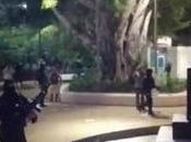 Policía Cancún reprime manifestación balazos: heridos