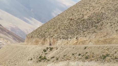 El gran viaje de la ruta 40 en moto de norte a sur: la cuarta etapa, desde Abra del Acay hasta Cachi.