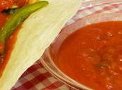 Receta Salsa roja picante Mexicana