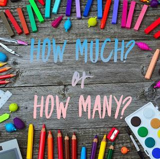 How much or How many? Nombres contables e incontables en inglés