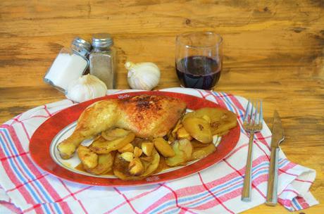 Las delicias de Mayte, pollo asado recetas, pollo asado al horno, recetas de pollo asado, pollo como lo hace la abuela, pollo asado fácil, pollo asado con patatas,