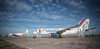 Jetsmart retoma sus vuelos desde el 19 de Noviembre