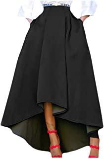 Maxi Falda Negra Para Fiesta