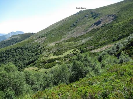 La Paraya-Yananzanes-Braña-Braña Foz-Ruayer-Las Foces de Ruayer