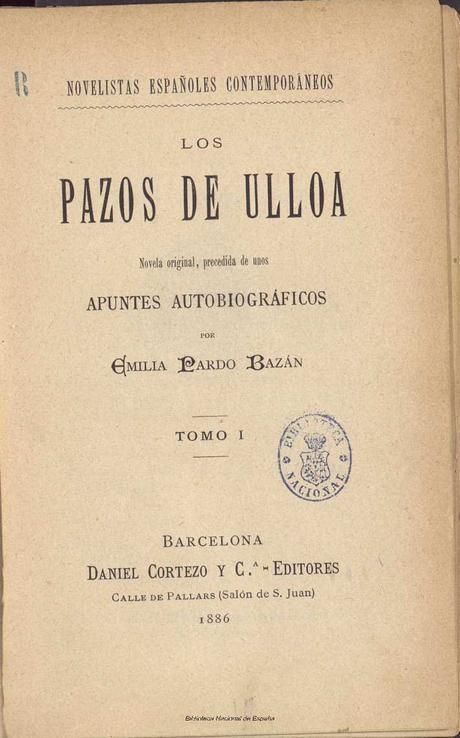 Especial Saga de Los pazos de Ulloa