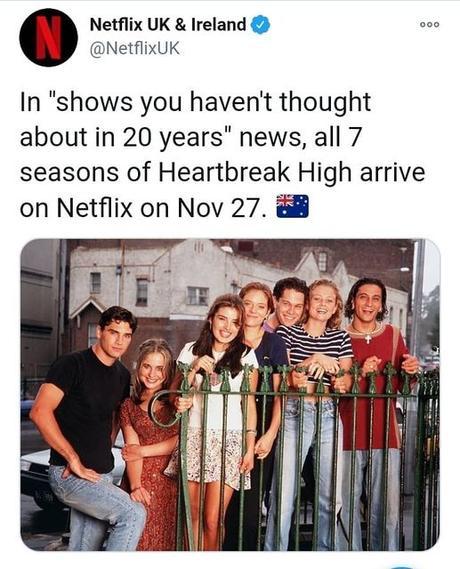 Serie Los Rompecorazones en Netflix