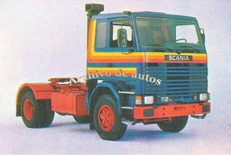 """Scania R 112 H el camión frontal del """"Programa Scania"""""""