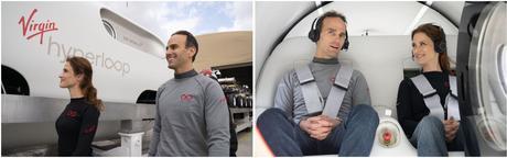 Dos pasajeros viajan de forma segura en un Hyperloop por primera vez