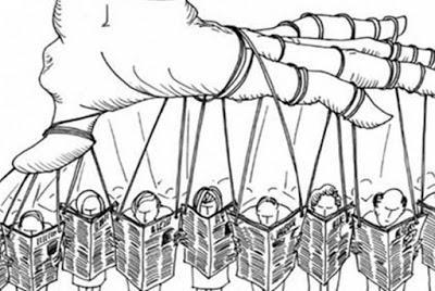 El periodismo mercenario de los medios españoles