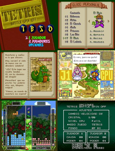 Tetris Battle Gaiden de Super Nintendo traducido al español