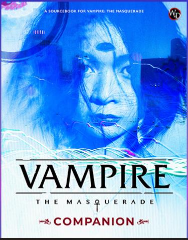 Portada del Vampire: the Masquerade Companion, mostrada