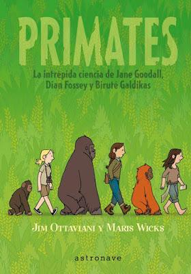 Primates. Maris Wicks y Jim Ottaviani.