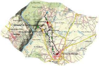 Ruta de los Molinos de Fariza de Sayago
