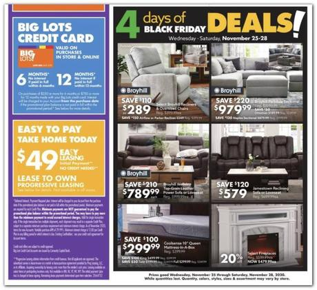 big lots black friday viernes negro 2020 2