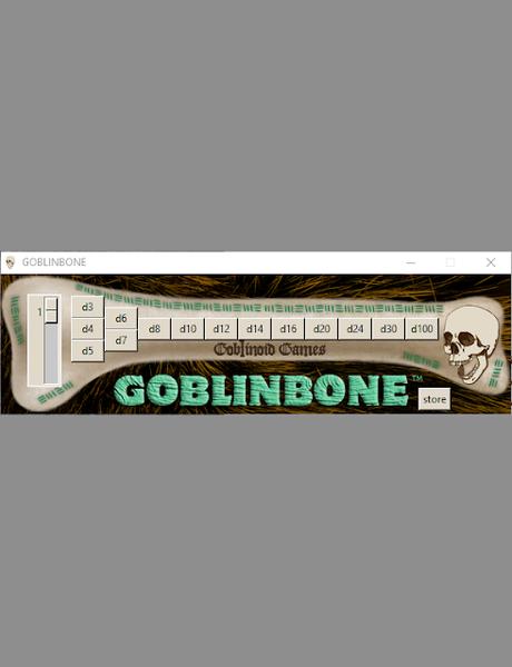 Goblinbone Dice Roller, de Goblinoid Games