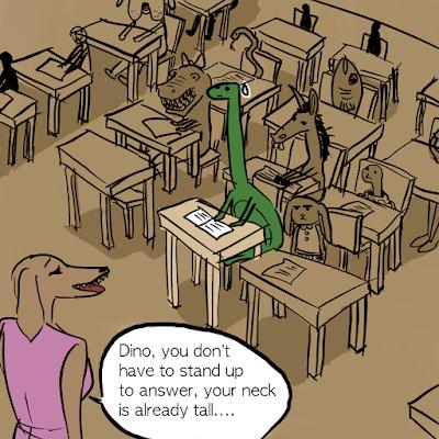 La incómoda vida sauropodiana vista por Nadeen Ashraf