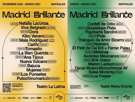 Madrid Brillante amplía cartel con 14 nuevos conciertos
